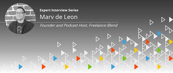 Expert Interview Series: Marv de Leon of Freelance Blend on Navigating a Freelancing Career
