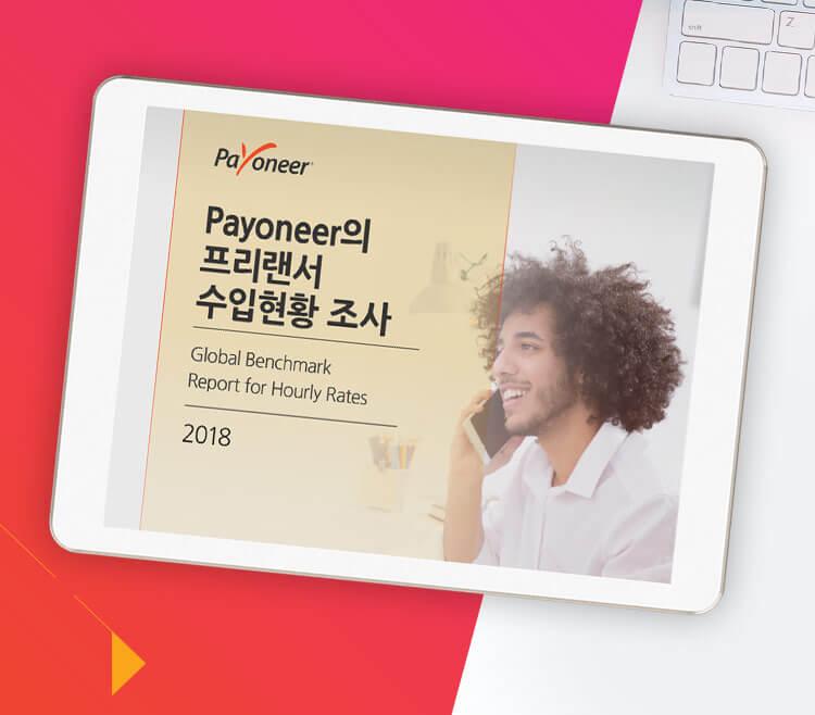 2018년 Payoneer의 프리랜서 수입현황 조사