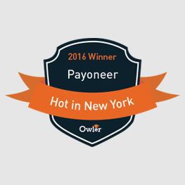 Payoneer Wins Owler's Hot in New York Award