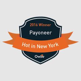 Payoneer gana el premio Owler's Hot en Nueva York
