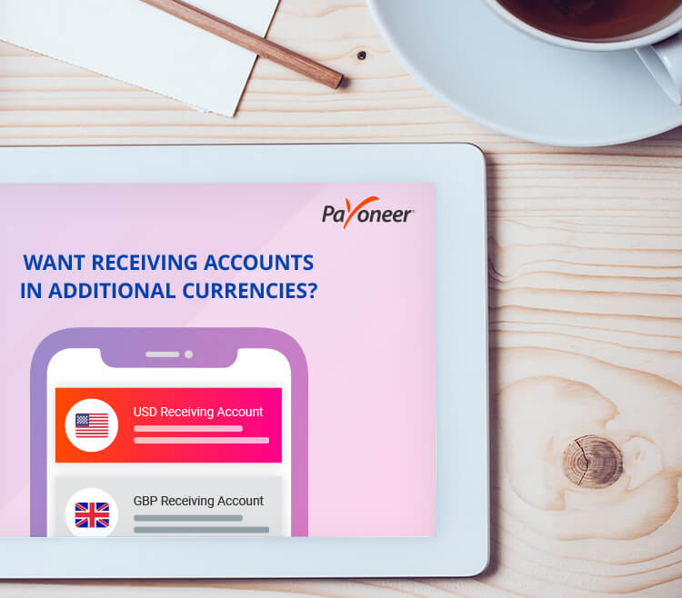How to Request a Receiving Account in Another Currency